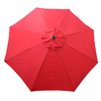 Seasonal Trends Market Umbrella Base, Red