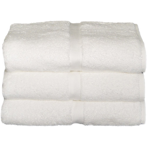 Baltic Linen Chelsea Heavyweight Bath Towels, 3pk, White by Generic