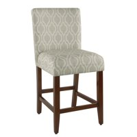 """HomePop 24"""" Classic Parsons Counter Stool, Multiple Colors"""