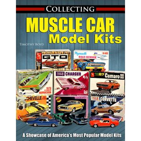 Collecting Muscle Car Model Kits Walmart Com