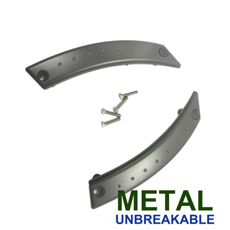 For 98-10 Volkswagen Beetle GRAY Metal Reinforced Door Panel Repair Kit Pair 2PCS 98 99 00 01 02 03 04 05 06 07 08 09 10