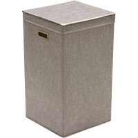 Product Image Greenway Gfl2500gr Collapsible Laundry Hamper Grey Linen