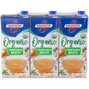 Product of Swanson Organic Vegetable Broth, 3 pk.