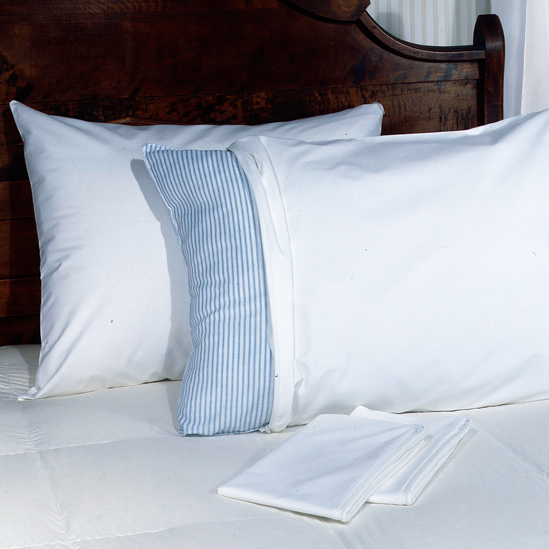 Fresh Ideas? Easy Care Pillow Protector, 2-pack by Levinsohn
