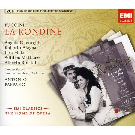Giacomo Puccini: La Rondine (La Boheme Puccini)