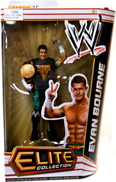 Mattel WWE Wrestling Elite Collection Series 15 Action Figure Evan Bourne by Mattel, Inc.