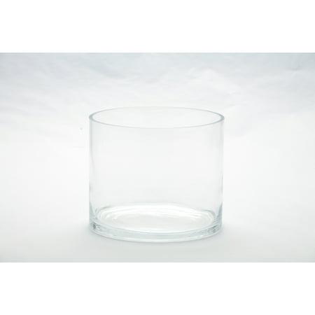 Diamond Star Corp. Clear Cylinder Vase (Diamond Star Corp)