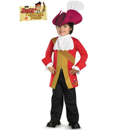 Red Captain Hook Jacket (Captain Hook from Jake and the Neverland Pirates)