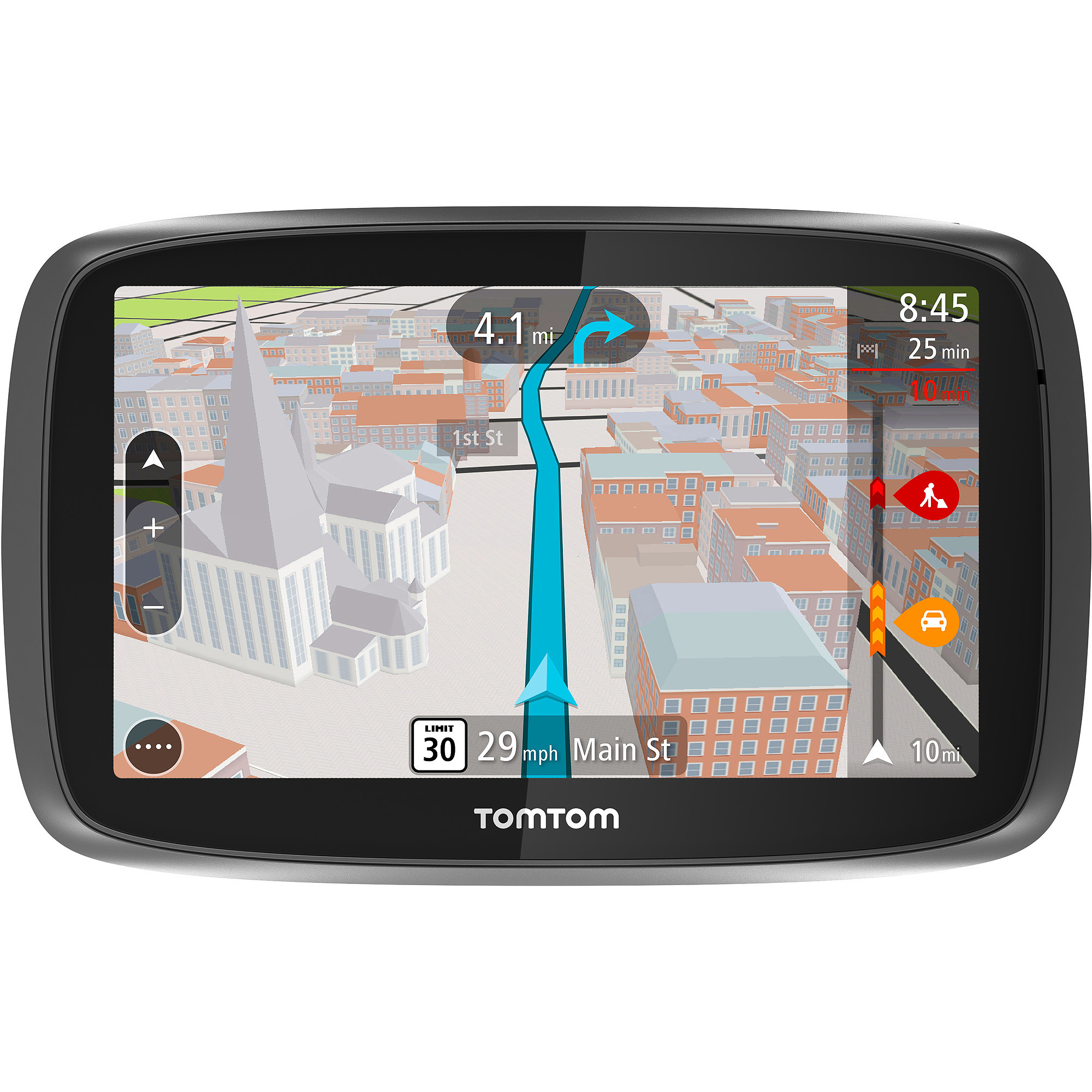 "TomTom GO 500 5"" GPS with Lifetime Map and Traffic Updates"