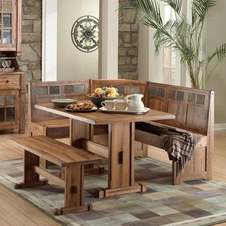 Sunny Designs Sedona 4 Piece Breakfast Nook Set