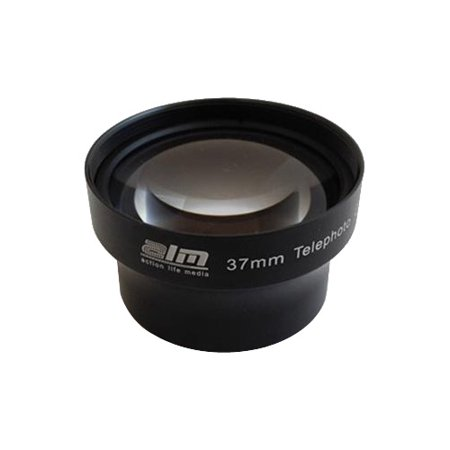 Image of ALM 37mm Telephoto Lens with 2x Magnification for mCAM & mCAMLITE (Black)