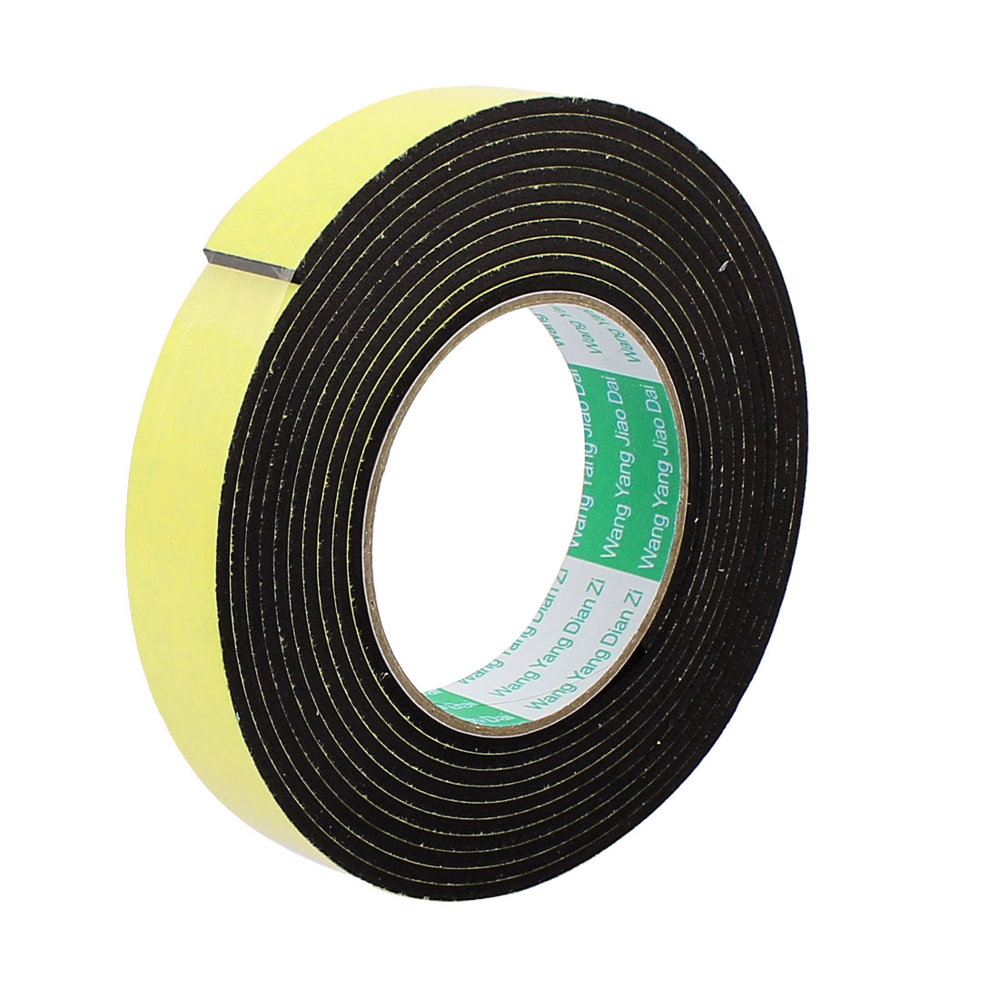 2.5CM Width 4M Length 3MM Thick Single Sided Sealing Shockproof Sponge Tape