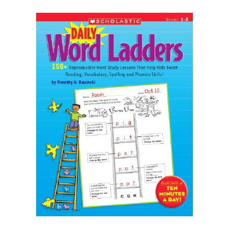 Halloween Vocabulary Words Esl (Daily Word Ladders: Grades 1-2 : 150+ Reproducible Word Study Lessons That Help Kids Boost Reading, Vocabulary, Spelling and Phonics)