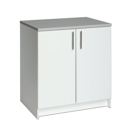 2 Door Storage Base Cabinet - Prepac Elite 32
