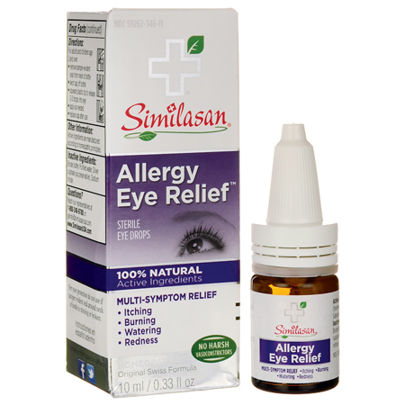 Similasan Allergy Eye Relief 0.33 fl oz Liquid (Good Over The Counter Allergy Eye Drops)