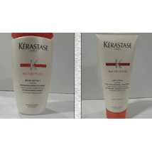 Shampoo & Conditioner: Kérastase Bain Satin 1
