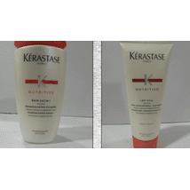 Shampoo & Conditioner: Kérastase Bain Satin 1