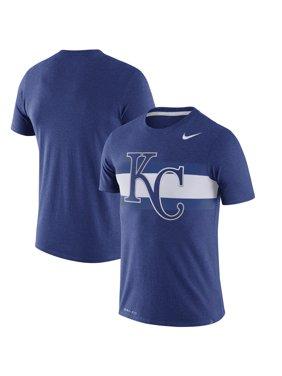 Product Image Kansas City Royals Nike Dri-Blend Local Stripes Performance T- Shirt - Heathered Royal 4ff7a9524