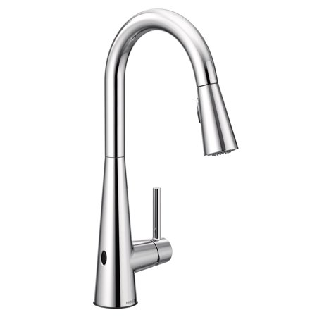 Moen 7864EW Sleek 1.5 GPM Single Hole Pull Down Kitchen Faucet