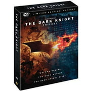 The Dark Knight Trilogy Limited Edition Giftset: Batman Rises   The Dark Knight   The Dark Knight Rises (DVD + Digital... by