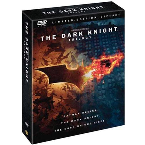 The Dark Knight Trilogy Limited Edition Giftset: Batman Rises / The Dark Knight / The Dark Knight Rises (DVD + Digital Copy) (Walmart Exclusive)