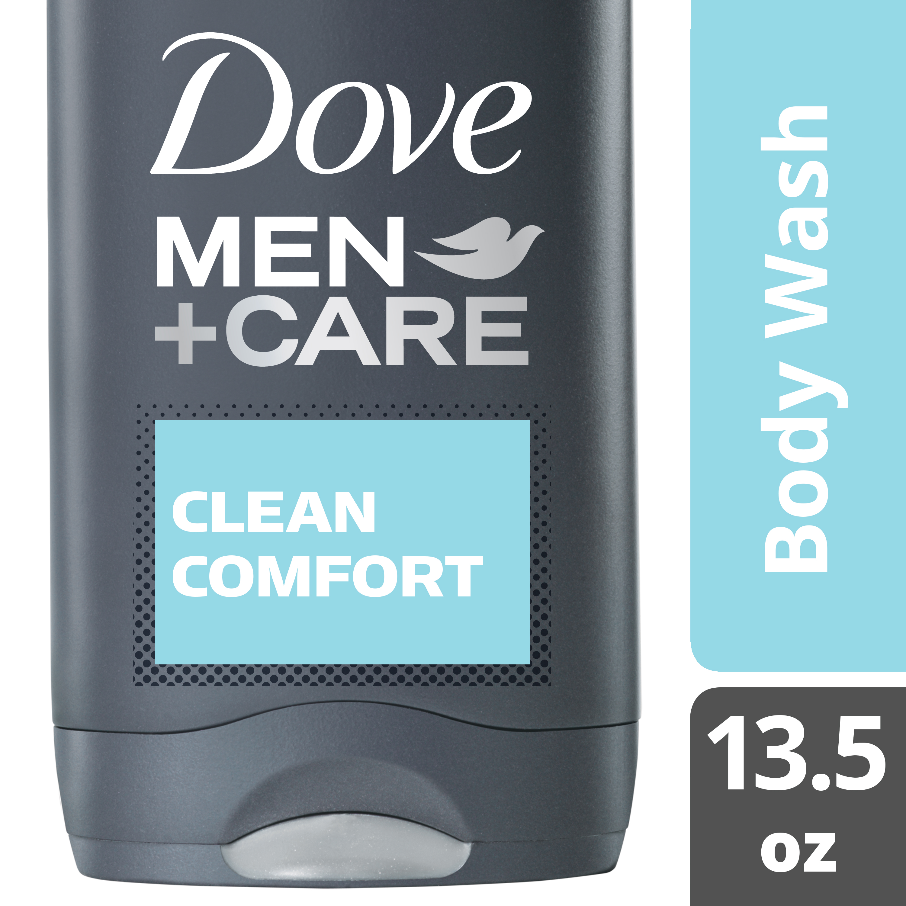 Dove Men+Care Clean Comfort Body and Face Wash, 13.5 fl oz - Walmart.com