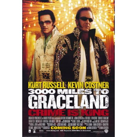 3000 Miles to Graceland (2001) 11x17 Movie Poster