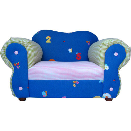 Fantasy Furniture Comfy Chair - Blue Flowers