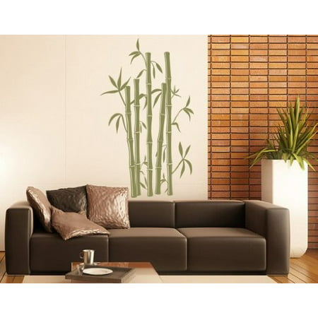 Bamboo Wall Decal Wall Sticker Vinyl Wall Art Home Decor Wall Mural 17