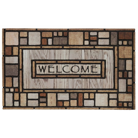 Mohawk Home Drifted Nature Welcome Doormat, 1'6