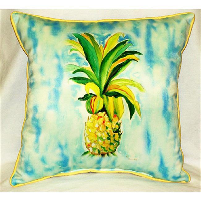Betsy Drake HJ400 Pineapple Art Only Pillow 18x18