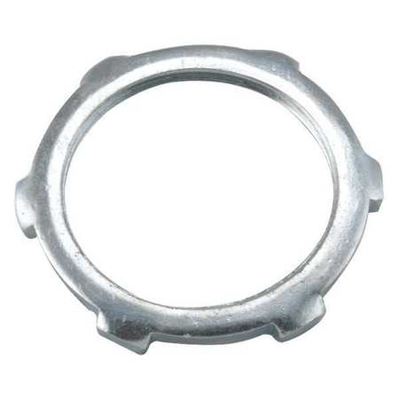 "Locknut,5/32"" L,3/4"" Conduit Steel RACO 1193"