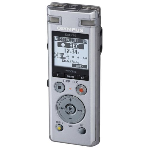 Olympus DM-720 4GB Portable Digital Voice Recorder