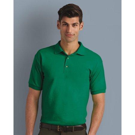 Maroon Striped Performance Polo - Gildan DryBlend® Jersey Sport Shirt