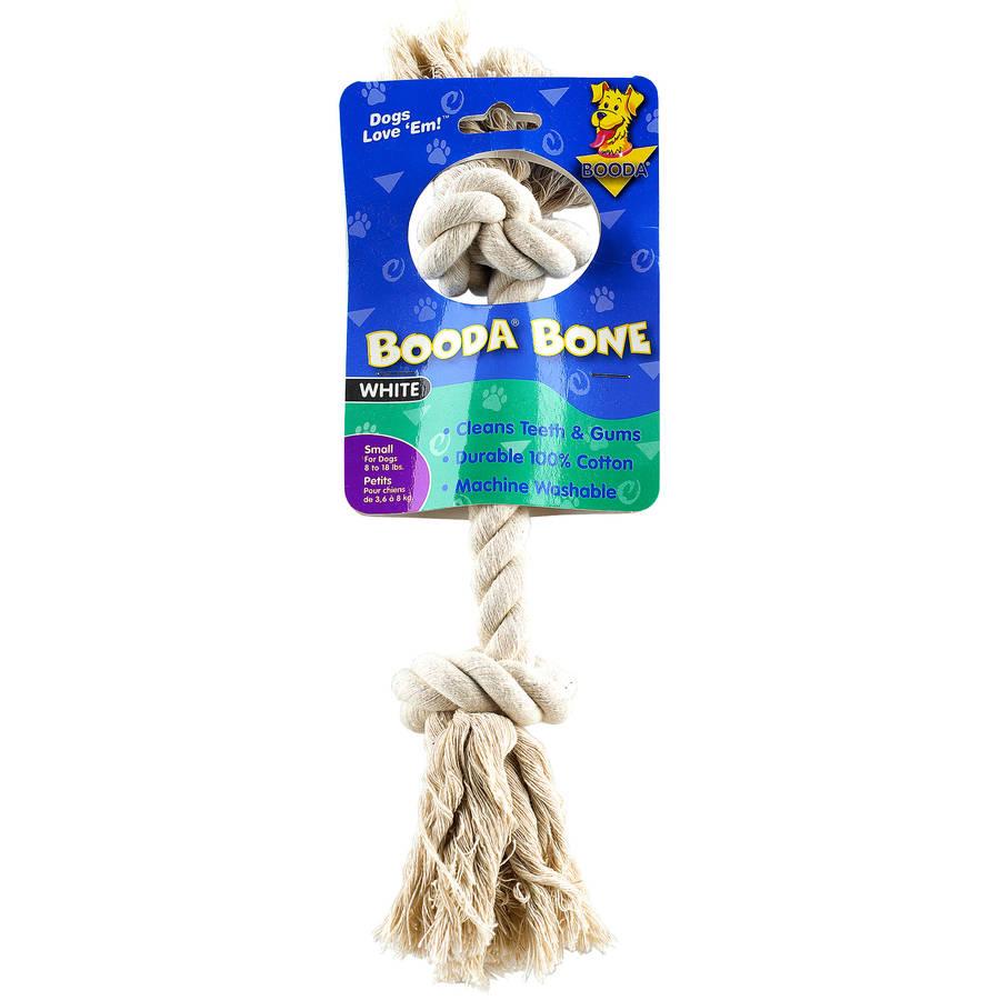 Petmate Doskocil Co. Inc. Rope Dog Bones, Small, White