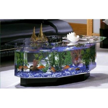 Aqua coffee table 28 gallon aquarium for 30 gallon fish tank walmart