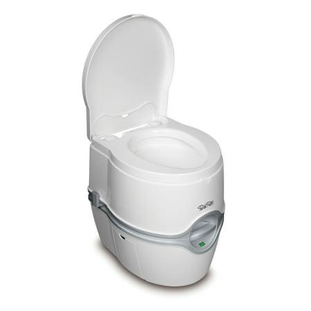 Porta Potti Curve 565E Portable Toilet for RVs / Boats / Camping / Healthcare / Toddler Training / Trucks / Vans - Thetford 92306
