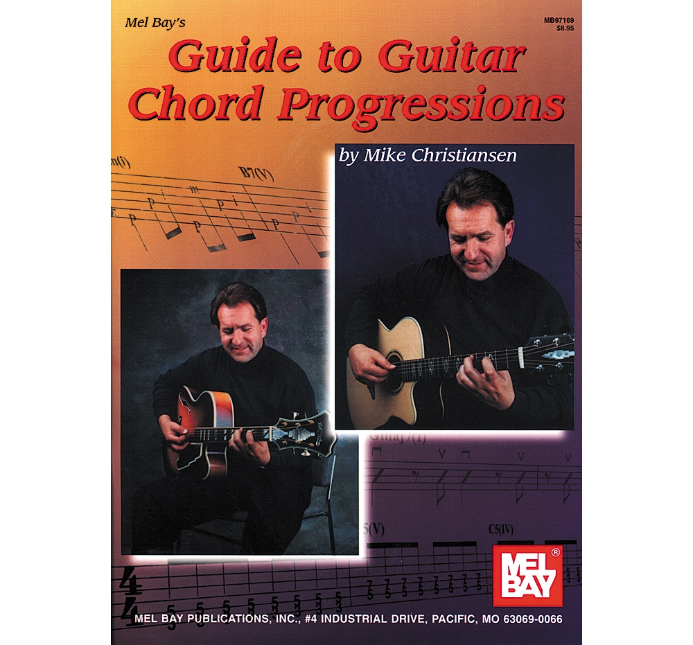 Mel Bay Guide To Guitar Chord Progressions Book by