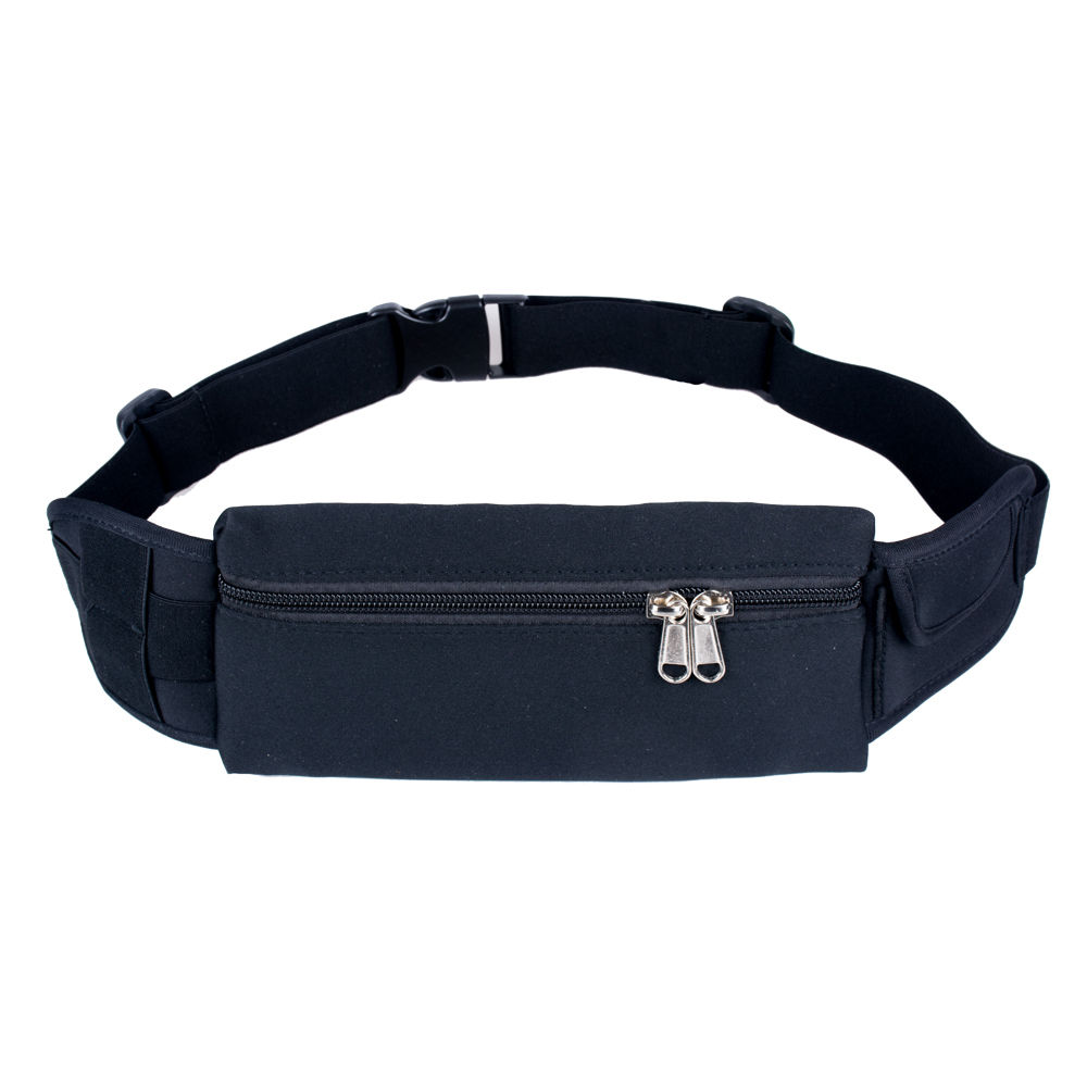 814166364c16 Running Waist Bag Fanny Pack / Hip Pack Pouch for Man Women Sports Travel  Hiking / Money iPhone6/6S Plus 7/7Plus 8/X/8Plus Samsung S8 Black IClover