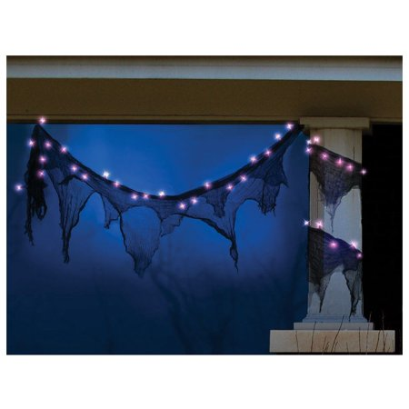 Celebrations H560AN12 Spooky Garland Halloween Lights, 11'](Pinterest Halloween Garlands)