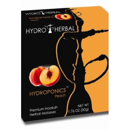 Hookah Tobacco 250g Jar - Hydro Herbal 50g Peach Hookah Shisha Tobacco Free Molasses