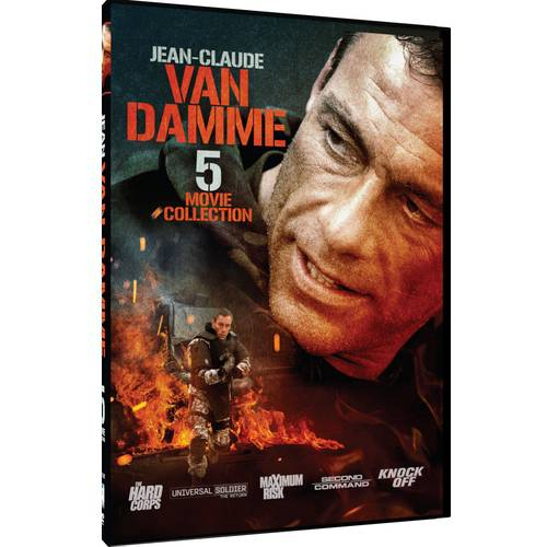 Jean-Claude Van Damme 5 Movie Collection: The Hard Corps / Universal Soldier: The Return / Maximum Risk / Second In Command / Knock Off