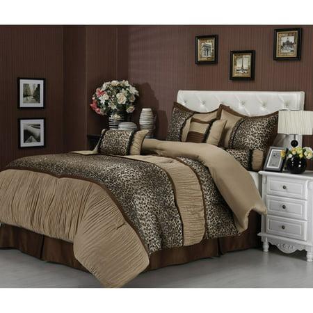 sadie 7 piece bedding comforter set. Black Bedroom Furniture Sets. Home Design Ideas
