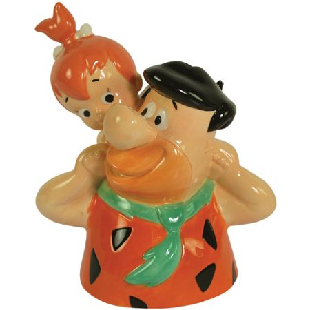 The Flintstone's Piggy Back Pebbles Ceramic Bank, 7-3/4-Inch, High quality By Westland Giftware from USA