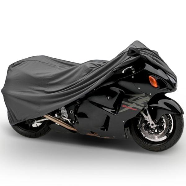 Motorcycle Bike Cover Travel Dust Storage Cover For Suzuki Blazer Cat Prospector Ranger - image 3 de 3