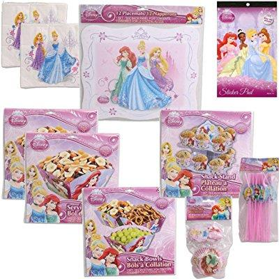 disney princess ultimate birthday party supply kit for 12...