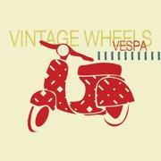 Trendy Peas Vintage Vespa Wall Art