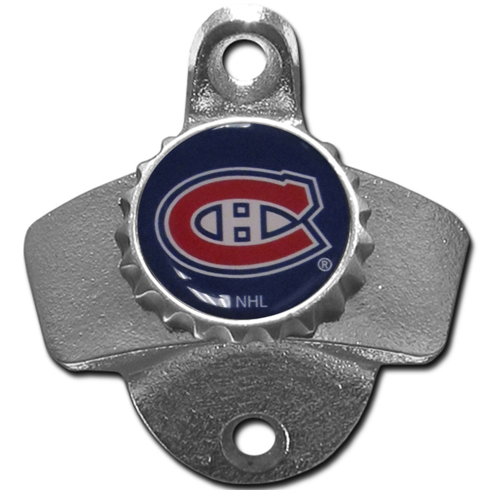 Montreal Canadiens Wall Mounted Bottle Opener