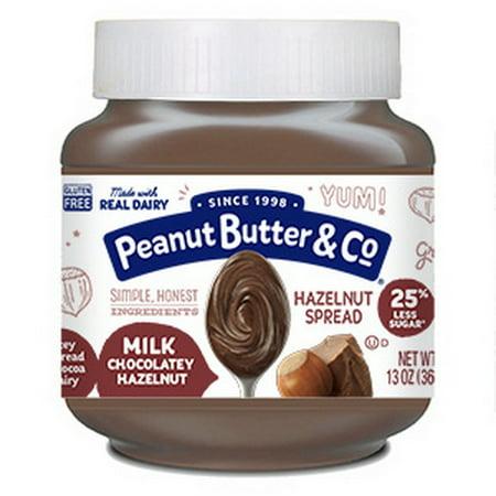 Peanut Butter & Co 14010001 Pb&Co Milk Choc Hazelnut Spread 6X13oz ()