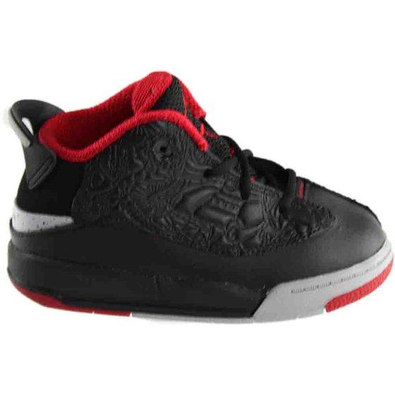 1f79617c38080b Air Jordan - Kids Air Jordan Dub Zero TD Black Gym Red Wolf Grey ...